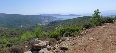 The Aegean From Pedesa