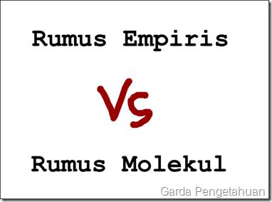 Perbedaan Antara Rumus Molekul dan Rumus Empiris