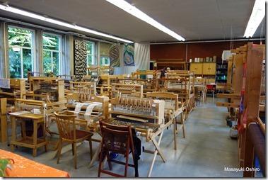 織物コースの教室