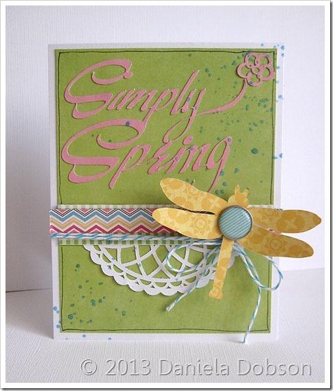 Simply Spring by Daniela Dobson