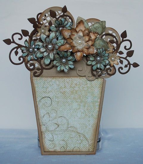 Flower pot card 2