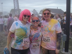 "Color Me Rad ""after"""