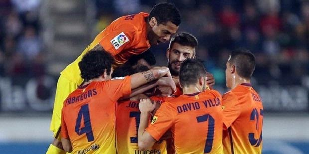 Hasil Mallorca vs Barcelona, Liga Spanyol Minggu 11 November 2012