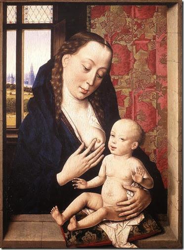 Virgen de la Leche - Dieric Bouts el Viejo - 1465