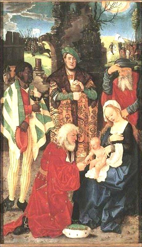 Baldung Grien, Adoration des Mages