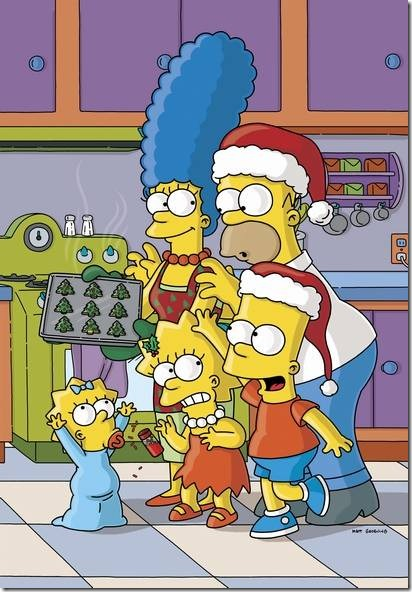 THE SIMPSONS.  L-R: Maggie, Marge, Lisa Homer and Bart Simpson on THE SIMPSONS on FOX.  ™ & ©2004 THE SIMPSONS and TTCFFC ALL RIGHTS RESERVED.  CR:FOX