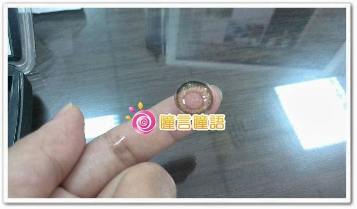 韓國GEO隱形眼鏡-自然金咖1