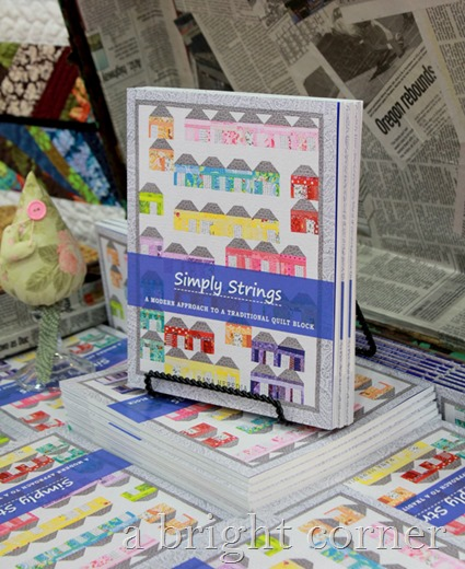 Simply Strings quilt book