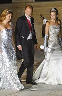 Kyril de Bulgaria, la princesa Martha Luisa, y la princesa Aimee Van Oranje Nassau