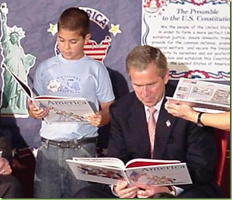perry-bush-reading