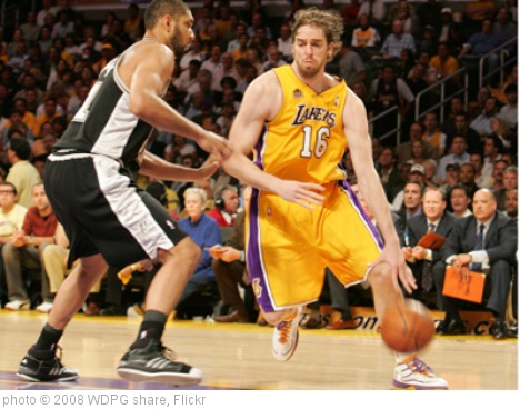 'Paul Gasol' photo (c) 2008, WDPG share - license: http://creativecommons.org/licenses/by/2.0/