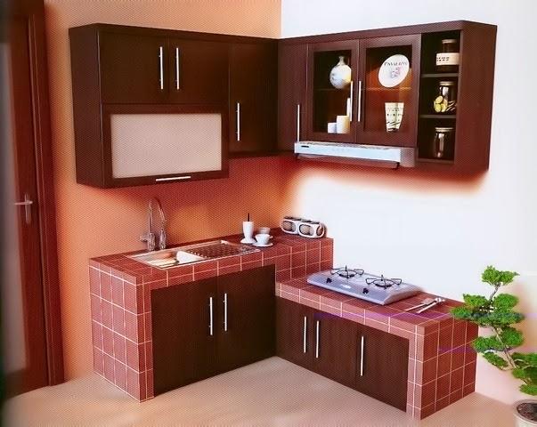 model dapur mungil minimalis