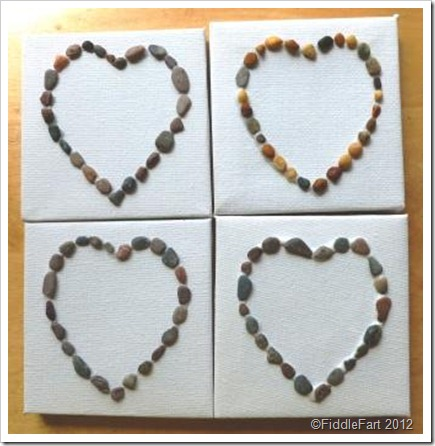 Miniature Pebble Canvases