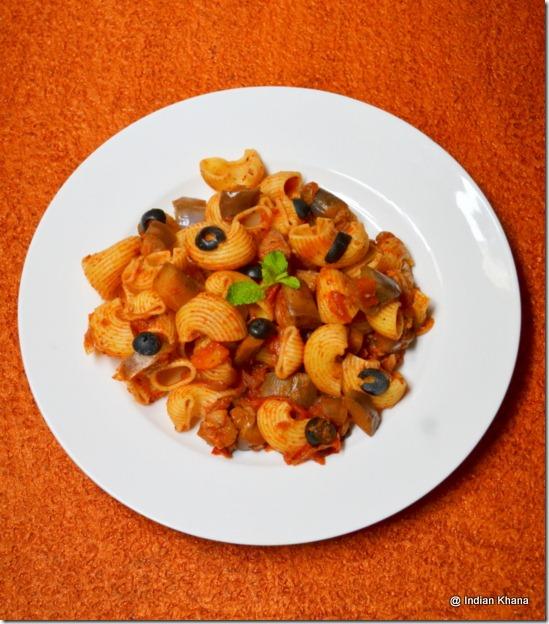 tomato and eggplant pasta recipe