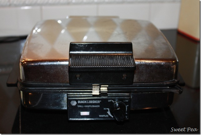 Black and Decker Grill and Wafflemaker