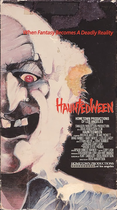 Hauntedween 1991 VHS Cover