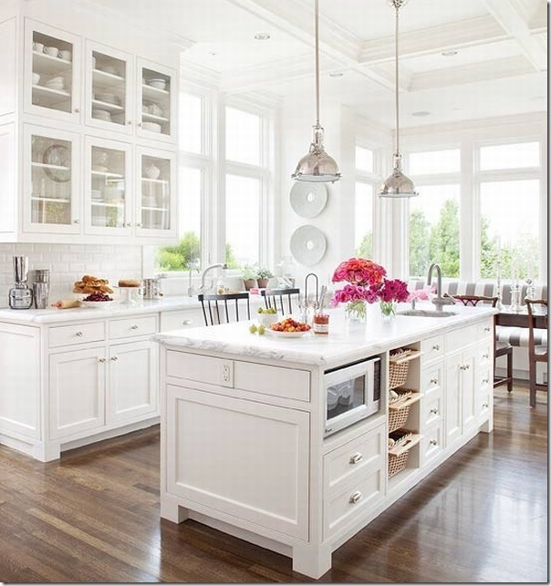 case e interni - bonus mobili - cucina bianca - shabby - country