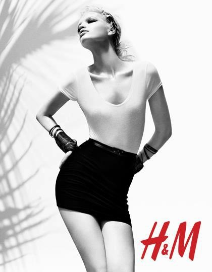 Daphne Groeneveld for H&M Season of Sun 2012 ad campaign