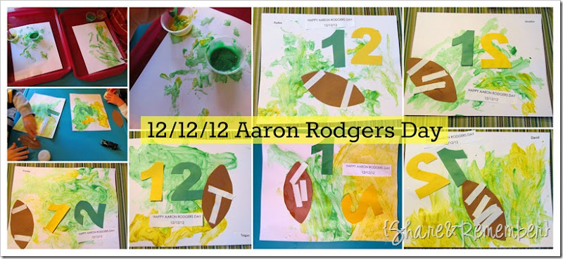 aaron rodgers day art
