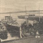 Завод Наваль. Заводской причал. 1912