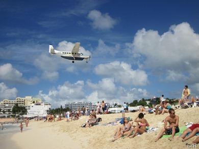 St_Maarten_Landung_Kleinfugzeug