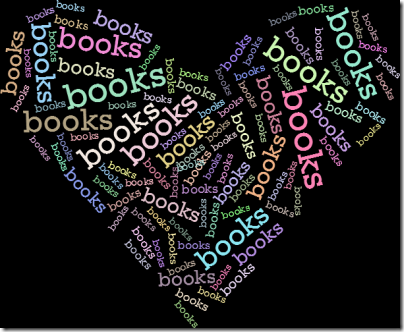 Books word cloud (click for larger image)
