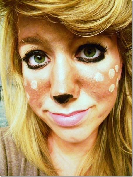 maquillaje de ciervo idisfraz (1)