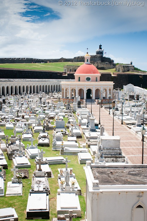Fort El Morro and Cemetery San Juan blog-5