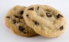 freshly-baked chocolate chip cookies