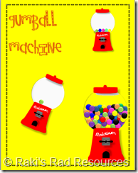 Gum Ball Machine Clip Art