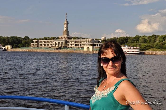 речная прогулка Москва