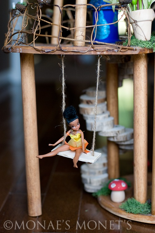 fairy house swing blog