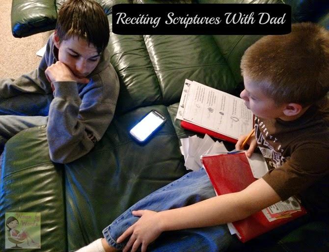 Reciting Scriptures