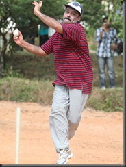 mohanlal bowling action