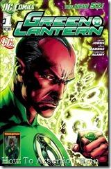 P00001 - Green Lantern #1 - Sinest