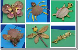 manualidades hojas secas  (1)