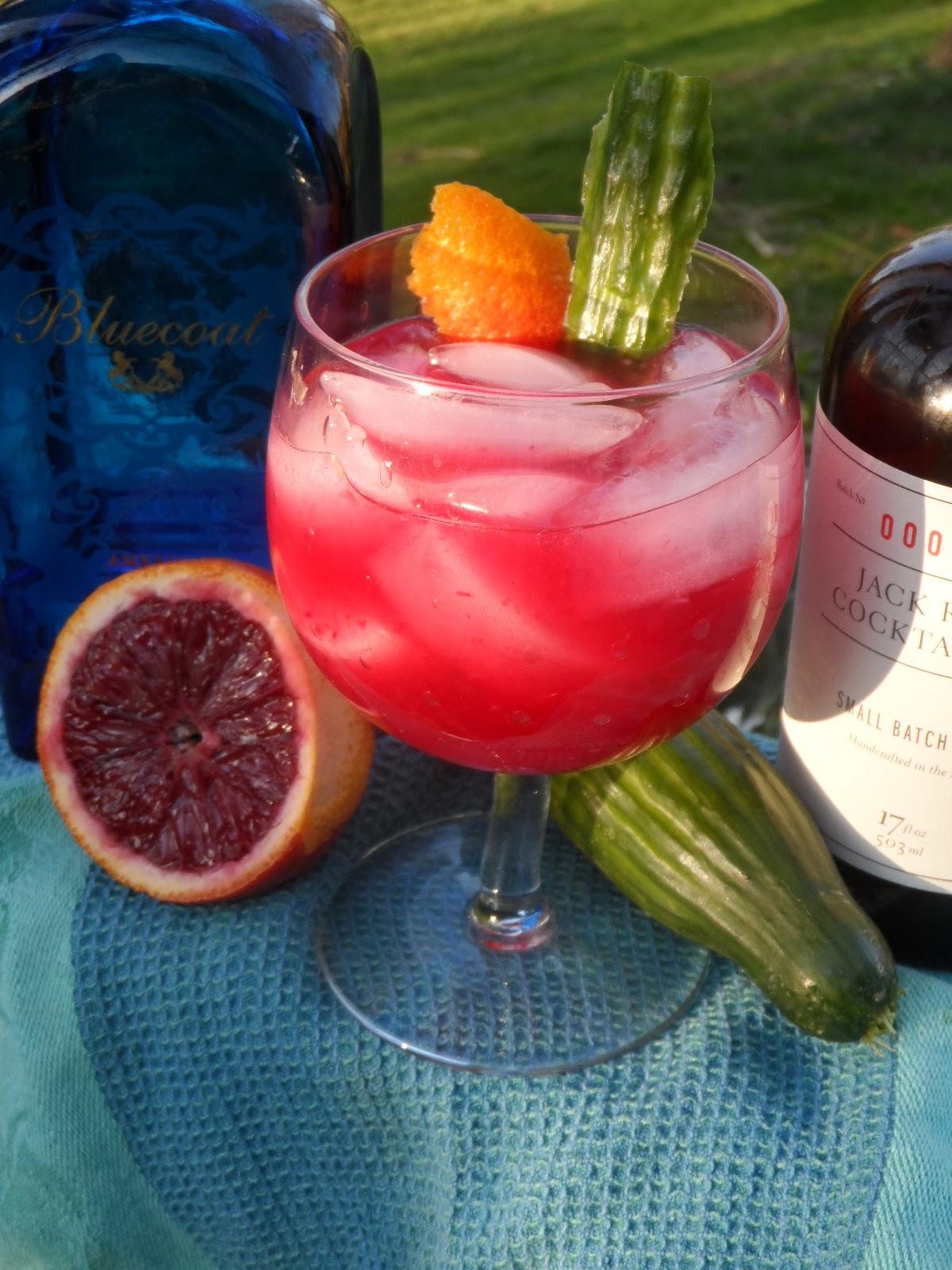 Bluecoat Gin Tonic Blood Orange Gin Amp Tonic