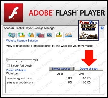 Clearing Flash Cache