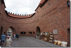 Barbican, Old Town, Warsaw