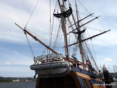 A view of the Hawaiian Chieftain