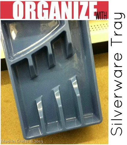Dollar Store Silverware Organizers
