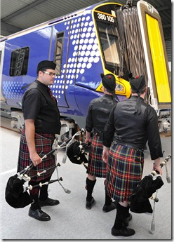 Scotrail 380 &amp; Scots
