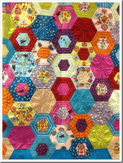 Quilt Market Houston 2012, Sue Spargo