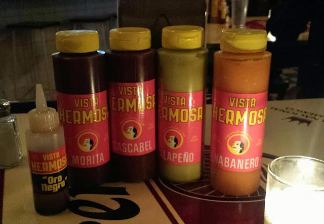 Cafe El Presidente hot sauces