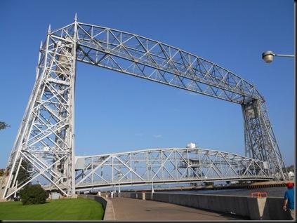 Aeriel Bridge down