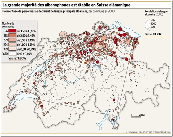 albanophones carte