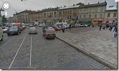 Lviv caminho para o centro