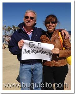 Saludito desde Barcelona, Gianna y Erwin