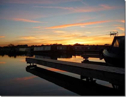 Sunset over the marina 1