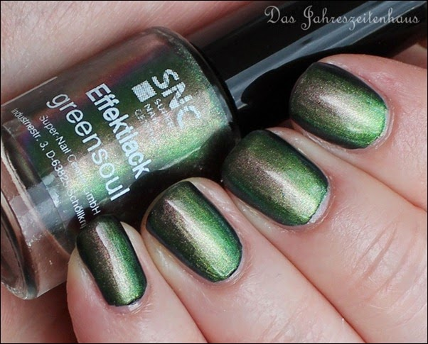 SNC Super Nail Center Effektlack Greensoul 6